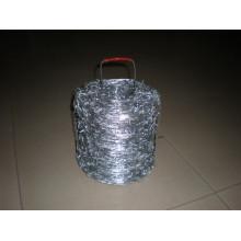 Alambre de púas de recubrimiento de zinc pesado