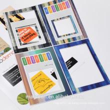 Handgemachter gestanzter Umschlagpapier Kühlschrankmagnet Fotorahmen