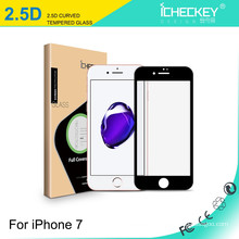 For Apple iPhone7 tempered glass screen protector 2.5D full cover silk-printing