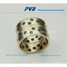 Split graphite filled bushing,Brass collar bearing,JDB Bushing