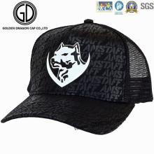 Sombrero de malla de moda / Gorro de camionero con logotipo personalizado de marca