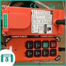 Méthode de contrôle de grue - Télécommande sans fil