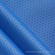 Oxford Diamond Wr Double Tone Nylon Fabric with PU