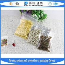 Factory Production Zipper Bags, Plastic Food Packaging Bags