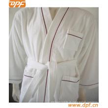 Amantes quentes da absorção da venda quente, Bathrobe, Bathrobe do algodão do colar do quimono, Bathrobe de toalha do hotel