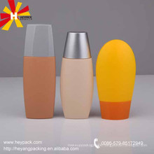 Mini Cute plastic sunblock packaging bottles for travel set
