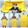 Super Wasseraufnahme Hund Katze Haustier Badetuch