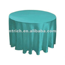 toalha de mesa, tampa de mesa, toalhas de mesa do banquete de 2012 cetim