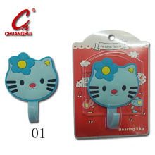 PVC Cabinet Cloth Children Artoon Hook (CH13805)