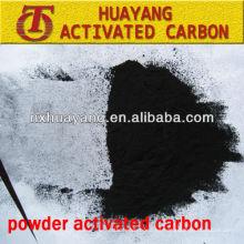 Polvo de carbón activado a base de madera de 200 mallas para deshielo de aguas residuales