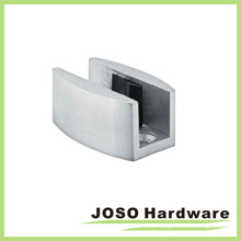 Glass Door Fitting Stainless Steel Pipe Clip for Office (EA006)