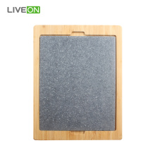 PP Plastic Board With Bamboo Tray