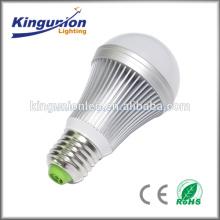 AC100-240V CE Rohs 3 couleur changeant ampoule à LED