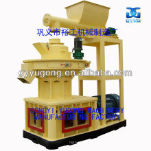 Durable Performance Yugong LGX Series Double Layer Ring Die Pellet Machine For Wood