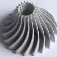 Dissipador de calor com farinha para luz LED