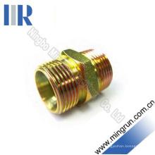 Adaptateur de raccord hydrurable mâle métrique pour réducteur droit (1C)