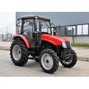 Direct Injection 4wd Traktor Pertanian Beroda 70hp