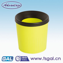 PP plastic office trash can