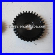 Engrenage conique en acier M1,1,5,2,2,5,3,4 etc.