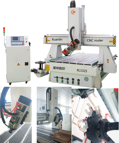 4axis spindle turning cnc router