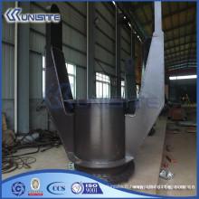 Double joint cardan chaud pour système de tuyau d'aspiration sur dragueur TSHD (USC8-006)