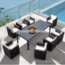 Nice design garden PE rattan chair outdoor wicker furniture