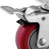 Full Steel Brake for Medium Duty Plate Casters