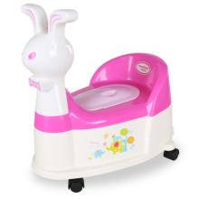 H8495 Rabbit - Silla de plástico para bebé, con ruedas