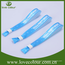 Bracelet de polyester imprimé à transfert de chaleur promotionnel