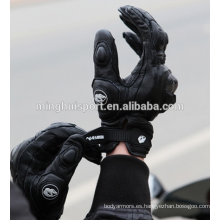 Guantes de piel de cabra boxeador guantes de motociclismo guantes de carreras de motocross