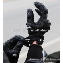 Gants de peau de chèvre gants de boxe de moto gants de course de motocross