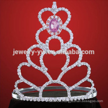 wedding tiara silver pageant tiara crown for women