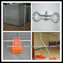 Anping China high quality hot-dipped galvanized temporary fence (ISO9001)