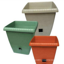 China flower pot mould with Different types of injection plastic flower pots mould for garden use