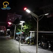 Alta qualidade Integrado inteligente tudo em uma luz de rua solar levou esl-16 30 W / 40 W com FILHO, Rohs