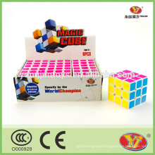 Promotional educational toys magical cubes magic puzzle 6 pcs per set