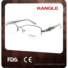 2015 mujeres baratas de las lentes de wenzhou anteojos del OEM del metal