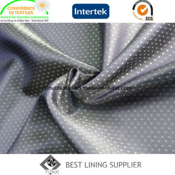 100% Polyester Two Tone Dobby Men′s Suit Lining Fabric