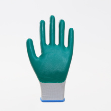 Anti-slip Nitrile Coated Wearable Work Protective Gloves