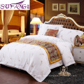Alibaba China suppiler Bed Sheet,Hotel Linen,Champions League 300tc Long Stapled Cotton 4pcs Bedding Set Bed Sets Bedding