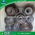 Crimped wire Mesh is made of carbon iron wire protecting metal screen mesh