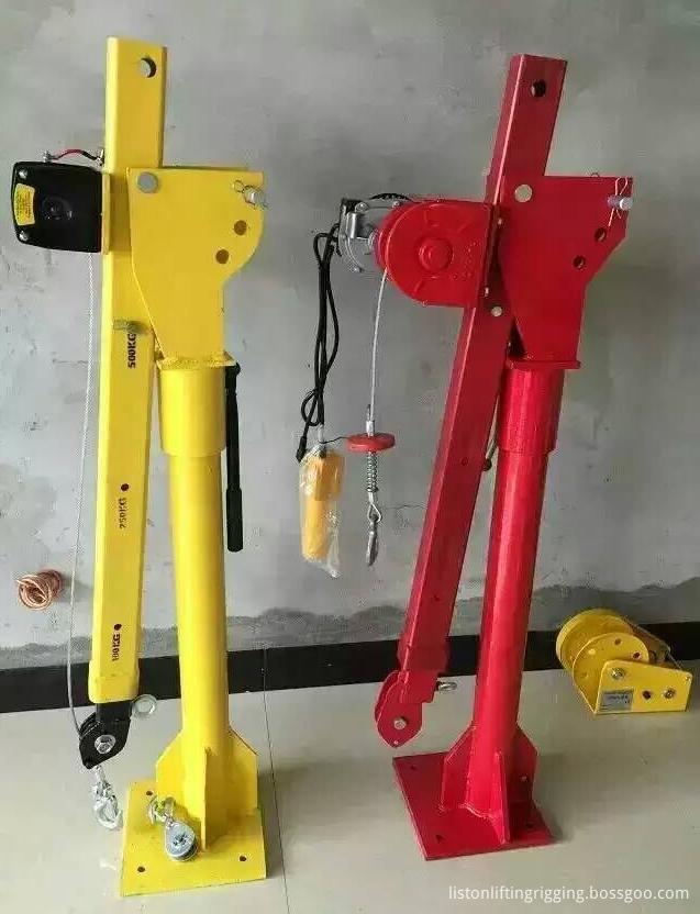small car lift crane