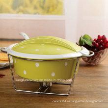 Низкая цена Цвет застекленный Антипригарной формы для выпечки (набор)