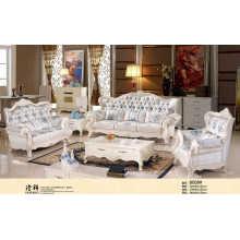 Real de sofá, sofá de la tela, sofá de la sala (B008)