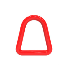 Alloy triangle ring for web sling
