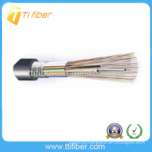 Good Quality Cheap price Outdoor G652D FRP Strength GYTA Armored Fiber Optic Cable Meter Price
