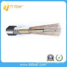 Хорошее качество Дешевые цены Открытый G652D FRP прочности GYTA бронированный волоконно-оптический кабель метр Цена