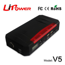 easy start 20000mAh 12v lithium battery FCC, CE-EMC/SGS/ITS Certification mini car jump starter with jumper leads
