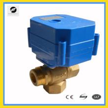 Serie CWX-60P (par de salida grande en mini válvula eléctrica) Válvula de bola mini eléctrica