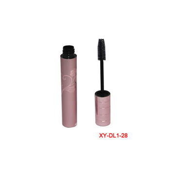 Lengthening Pink Flower Aluminum Mascara Tube